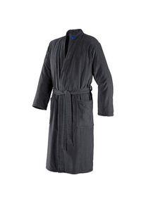 JOOP! Bademäntel Herren Kimono Graphit Größe 46/48, Länge 125 cm 1 Stk.