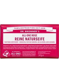 Dr. Bronner's Pflege Körperpflege All-One Rose Reine Naturseife 140 g