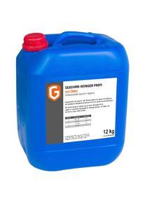 Liquide de lavage pour lave-vaisselle PROFI -Bidon de 12 kg – Avec Chlore| Professionnel | HoReCa | CHR