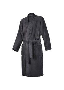 JOOP! Bademäntel Herren Kimono Anthrazit Größe 46 / 48 1 Stk.