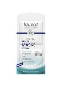 lavera Gesichtspflege Faces Masken Neutral Maske 2 x 5 ml