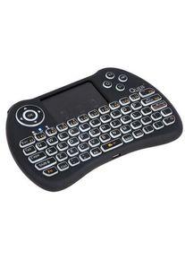 Tastatura Wireless Quer KOM0973, dedicata Smart TV (Negru)