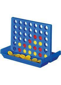 Giffits Jouets pour enfants publicitaire: 'Jeu 4 IN A LINE' - Bleu/rouge/jaune - Plastique - comme goodies publicitaires Impression du logo moyennant des frais supplémentaires (1 pièce/prix)