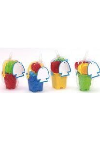 Giffits Jouets pour enfants publicitaires: 'Set de seaux de plage ...' - coloré - Plastique - comme cadeaux-publicitaires Impression du logo moyennant des frais supplémentaires (1 pièce/prix)