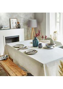 Mistral Home Nappe aspect lin, 135 x 220 cm - Naturel