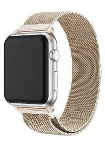 Apple Watch Band Milanese Roestvrij Staal 4/5 44MM, 3/2/1 42MM Zilver