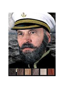 Capitaine Composition de barbe professionnelle en poils véritables