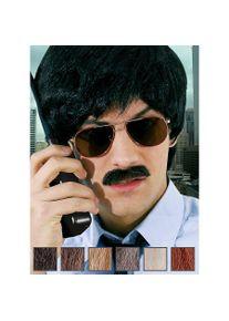 maskworld Détective Moustache professionnelle en poils véritables