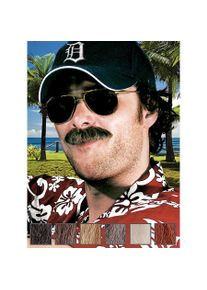 maskworld Fouineur Moustache professionnelle en poils véritables