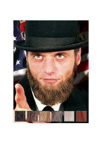 Lincoln Bouc et favoris professionnels en poils véritables