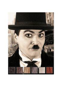 maskworld Charlie Moustache professionnelle en poils véritables
