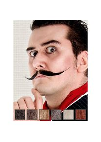 maskworld Artiste Moustache professionnelle en poils véritables