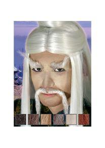 maskworld Master Lee Moustache professionnelle en poils véritables