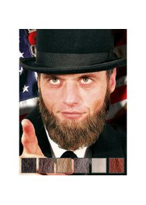 maskworld Lincoln Bouc et favoris professionnels en poils véritables