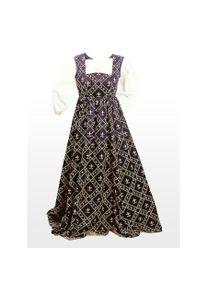 Medieval Dress - Fleur de Lis, blue