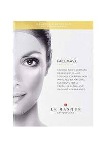 Le Masque Switzerland Pflege Masken Bio-Cellulose Calming & After Sun Face Mask 23 ml