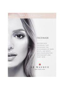 Le Masque Switzerland Pflege Masken Bio-Cellulose Anti-Dark Spot & Brightening Face Mask 23 ml