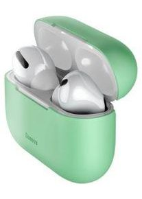 Apple Baseus Ultradun Siliconen Apple AirPods Pro Hoesje Groen