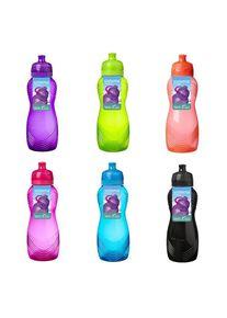 sistema Drikkeflaske 600 Ml, Lime, Blå Melon, Pink, Lilla, Sort - 1 stk