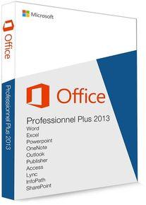 Microsoft Office 2013 Professionnel Plus 32/64 Bit (clé de produit)