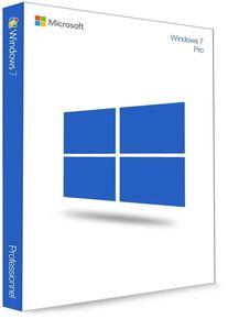 Microsoft Windows 7 Professionnel 32/64 Bit (clé de produit)
