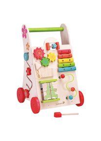 EVEREARTH Lauflernwagen Spielzeug 2-in-1 aus Holz
