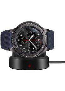 Samsung Galaxy Watch / Gear Watch Oplader Draadloos Opladen Dock Zwart