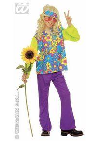 Feestbazaar Hippie kleding kind 4-delig Prosperity
