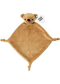 Giffits Peluches publicitaires: 'Doudou' - brun - Polyester 100% - comme goodies publicitaires Impression du logo moyennant des frais supplémentaires (1 pièce
