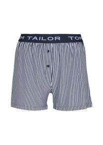 Tom Tailor Gestreifte Pyjamashort, Damen, blau, Größe: 36