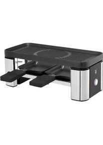 WMF KÜCHENminis Raclette for Two 370 W Dishwasher Safe Non-Stick Coated Cromargan 18/10 Black/Stainless Steel 61.3024.5385