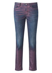 Glücksmoment Skinny-Jeans Modell Gill Glücksmoment denim