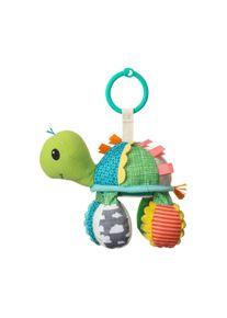 infantino Hänge-Spielzeug Schildkröte mit Rassel & Spiegel Go gaga