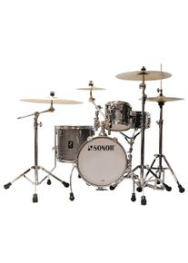 """SONOR AQ2 14"""" Titanium Quartz Martini Drumset Batterie acoustique"""