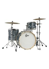 """Gretsch Drums Renown Maple 24"""" Silver Oyster Pearl Shell Set Batterie"""