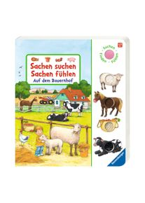 Ravensburger Fühlbuch Sachen suchen, Sachen fühlen - Auf dem Bauernhof
