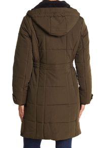 Imbracaminte Femei Lucky Brand Quilted Hooded Long Parka Jacket ARMY