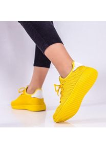 Pantofi sport Abora galbeni -rl