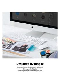 Suport Stand Universal Ringke Griptok pentru smartphone Albastru