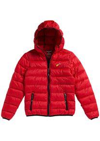 Giffits Gilets & vestes publicitaires: 'Doudoune matelassée femme ...' - rouge - M - Matériau extérieur 100 % polyester - comme cadeaux-publicitaires Impression du logo moyennant des frais supplémentaires (1 pièce/prix)