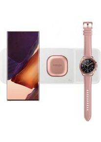 Samsung Originele Samsung 3 in 1 Draadloze Oplader Smartphone/Buds/Watch Wit