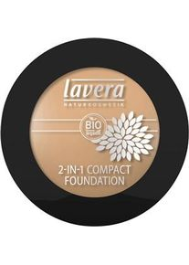 lavera Make-up Gesicht 2in1 Compact Foundation Nr. 01 Ivory 10 g