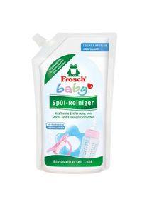 Erdal-Rex Frosch Baby Spül-Reiniger, Speziell für Babygeschirr und Spielzeug, 500 ml - Nachfüllbeutel
