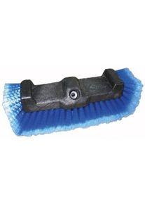 De Witte DIP Deluxe Triple Bürste, Waschbürste mit seitlichen sanften Haaren, Länge: 25 cm