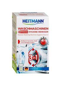 Brauns-Heitmann HEITMANN Express Waschmaschinen-Hygiene-Reiniger, Waschmaschinenreiniger entfernt Kalk, Biofilm, Ablagerungen und Gerüche , 1 Packung = 250 g