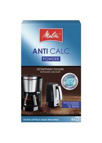 Melitta Haushaltsprodukte GmbH & Co. KG Melitta® ANTI CALC Pulver Geräteentkalker, Pulverförmiger Kalklöser für Wasserkocher und Filterkaffeemaschinen, 120 g - Packung