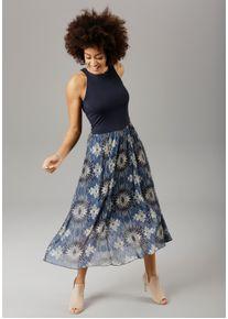 Aniston SELECTED Sommerkleid, mit Batik-Druck