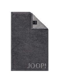 JOOP! Accessories Classic Doubleface Guest towel Anthracite 30 x 50 cm 1 Stk.
