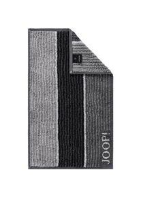JOOP! Accessories Lines Guest towel Black 30 x 50 cm 1 Stk.