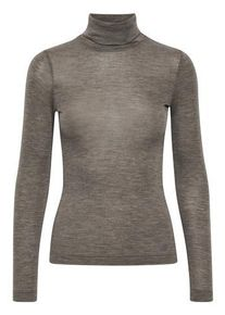 Inwear FangIW Rollneck - Brown MelangeBrun